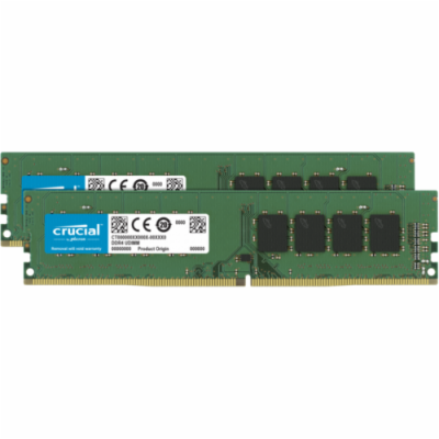 Crucial 64GB Kit DDR4 2666 MT/s 32GBx2 UDIMM 288pin CL22