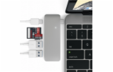 Satechi Type-C USB Passthrough Hub space gray