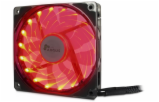 Inter-Tech L-12025 RD Rote LED 120mm